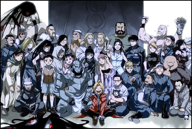 I love the character diversity in Fullmetal Alchemist